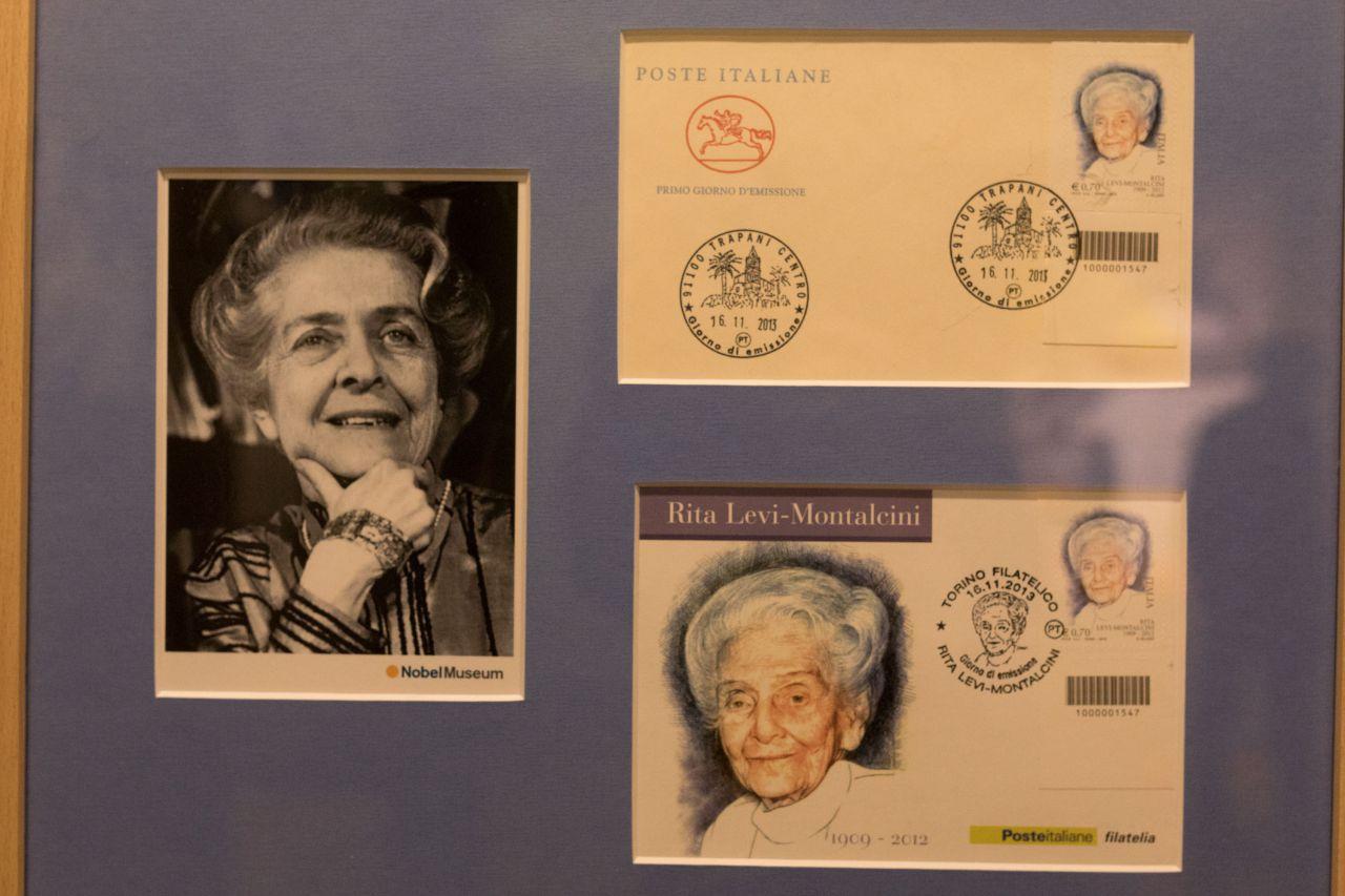 Rita Levi-Montalcini, Premio Nobel Medicina en 1986