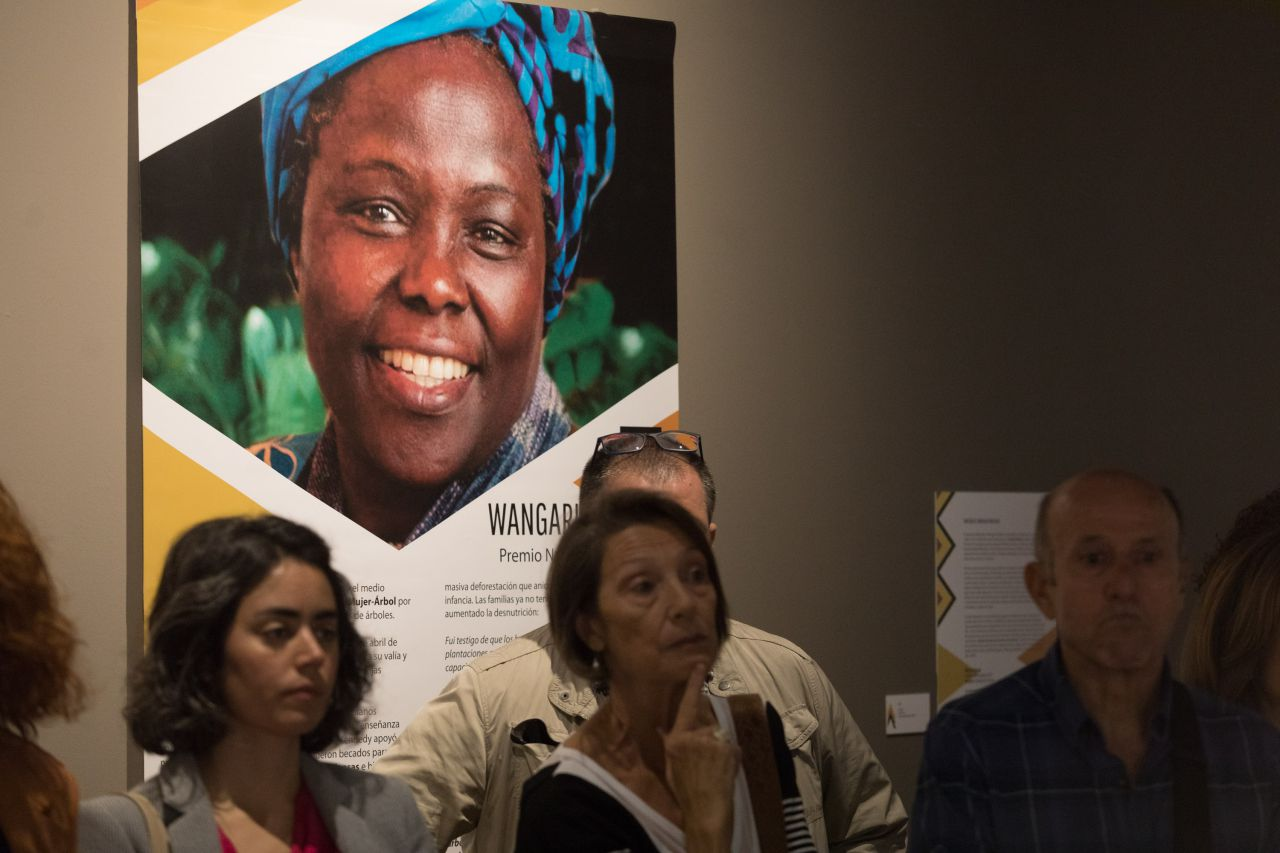 Wangari Maathai, Premio Nobel de la Paz.