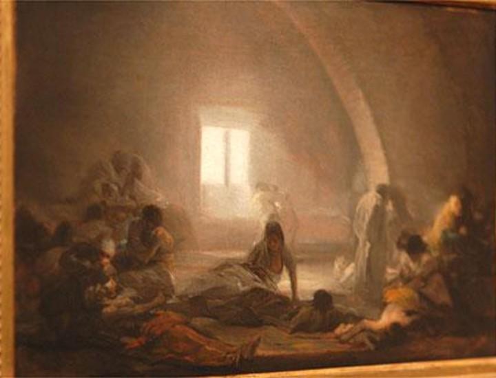 El Museo del Prado exhibe una de las exposiciones más ambiciosas e importantes sobre el maestro aragonés, 'Goya en tiempos de Guerra'. Centrada en torno a los lienzos del Dos y el Tres de mayo de 1808, que acaban de ser restaurados y brillan con una luz nueva, la muestra incluye casi 200 obras del artista, desde sus brillantes y conocidos retratos cortesanos hasta sus pequeñas litografías y estampas, que reflejan la oscuridad del alma humana. La exposición, que se inscribe dentro de la programación que conmemora el Bicentenario de la Guerra de la Independencia, será inaugurada el lunes por los Reyes.