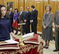 Los ministros de Zapatero