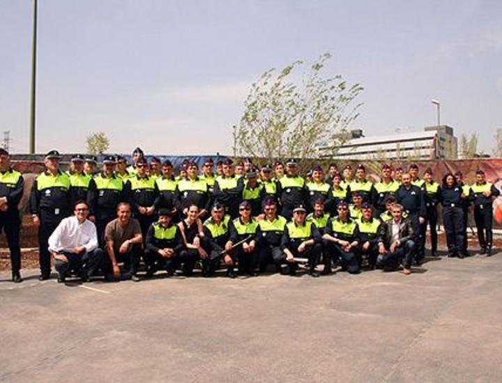 Un escuadrón de la Policía Local participó este miércoles en uno de los entrenamientos del espectáculo ecuestre 'Cavalia' gracias a un acuerdo con el sindicato CSI-CSIF.