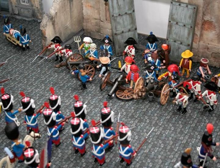 Madrid acoge la V Feria del Coleccionismo de Playmobil en España, que se celebra hasta el domingo.