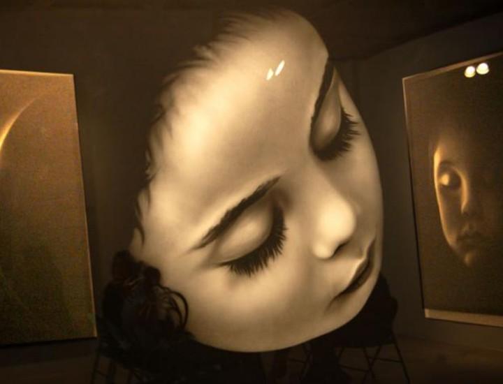 """La exposición lleva el título de """"Intimate Immensity"""" y se puede ver desde el 6 de Mayo al 7 Junio de 2008."""