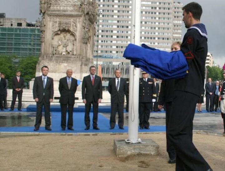 Madrid ha celebrado este viernes diversos actos para conmemorar el Día de Europa.