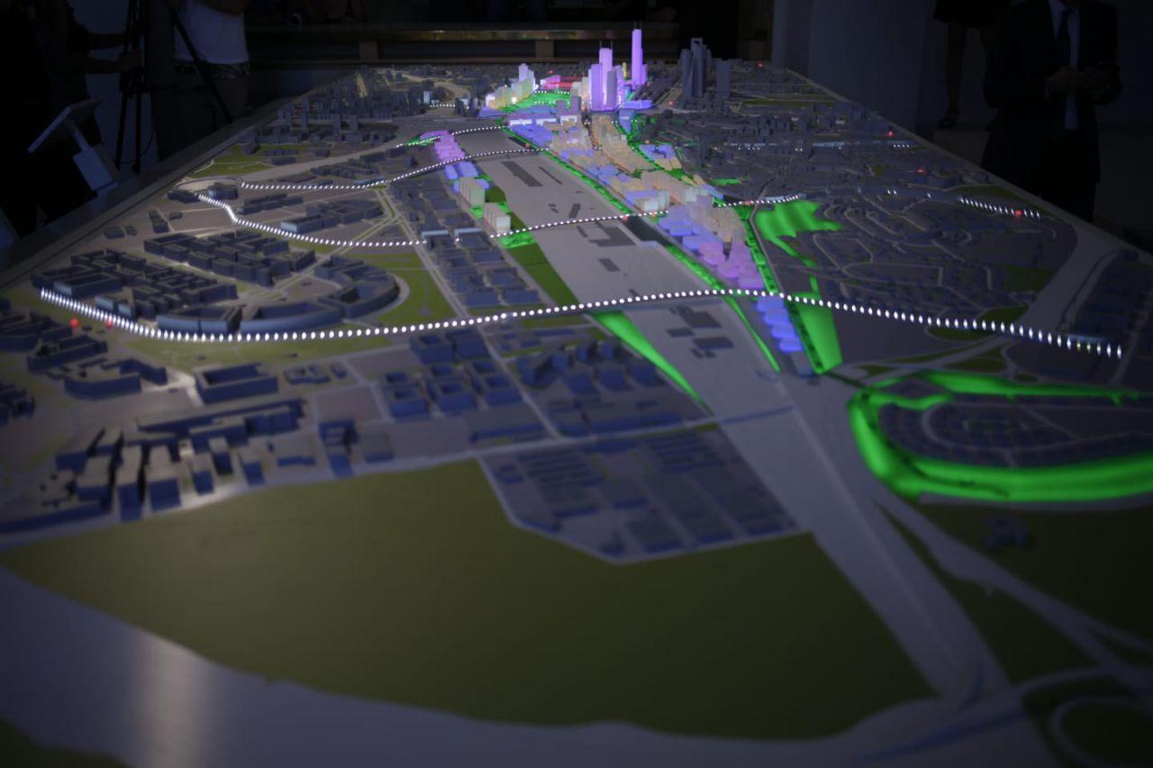 Otra de las claves de la propuesta es la remodelación de la estación de Chamartín, que se transformará completamente.