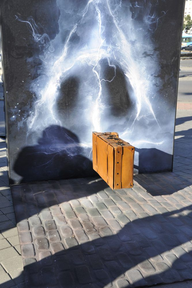 figuras y escenarios icónicos del universo Harry Potter en Madrid.
