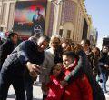 Un 'selfie' con Carmena en Madrid Central