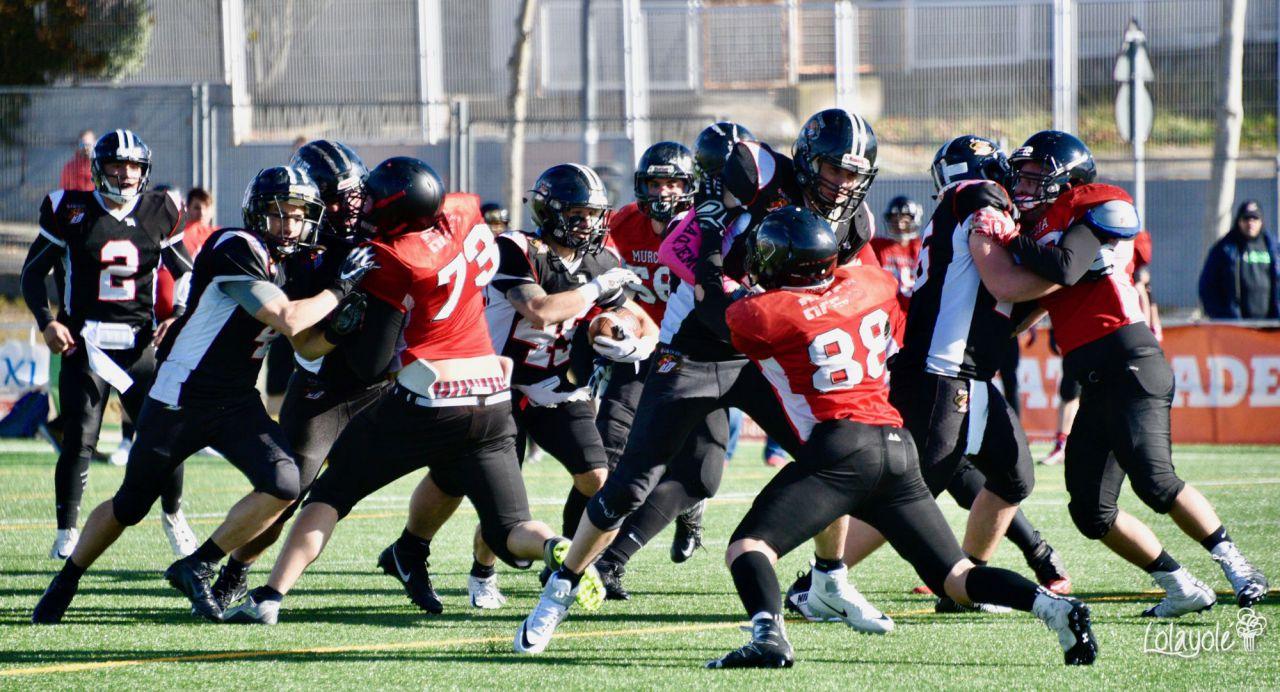 Black Demons Las Rozas vs Murcia Cobras