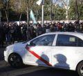 La huelga del taxi se traslada al centro
