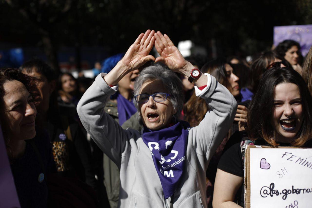 Piquetes feministas han recorrido las calles de Madrid coreando sus proclamas.
