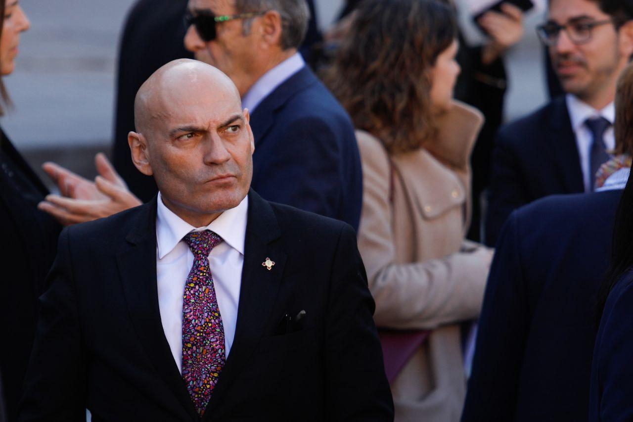 El juez Gómez Bermúdez, que juzgó el 11M.