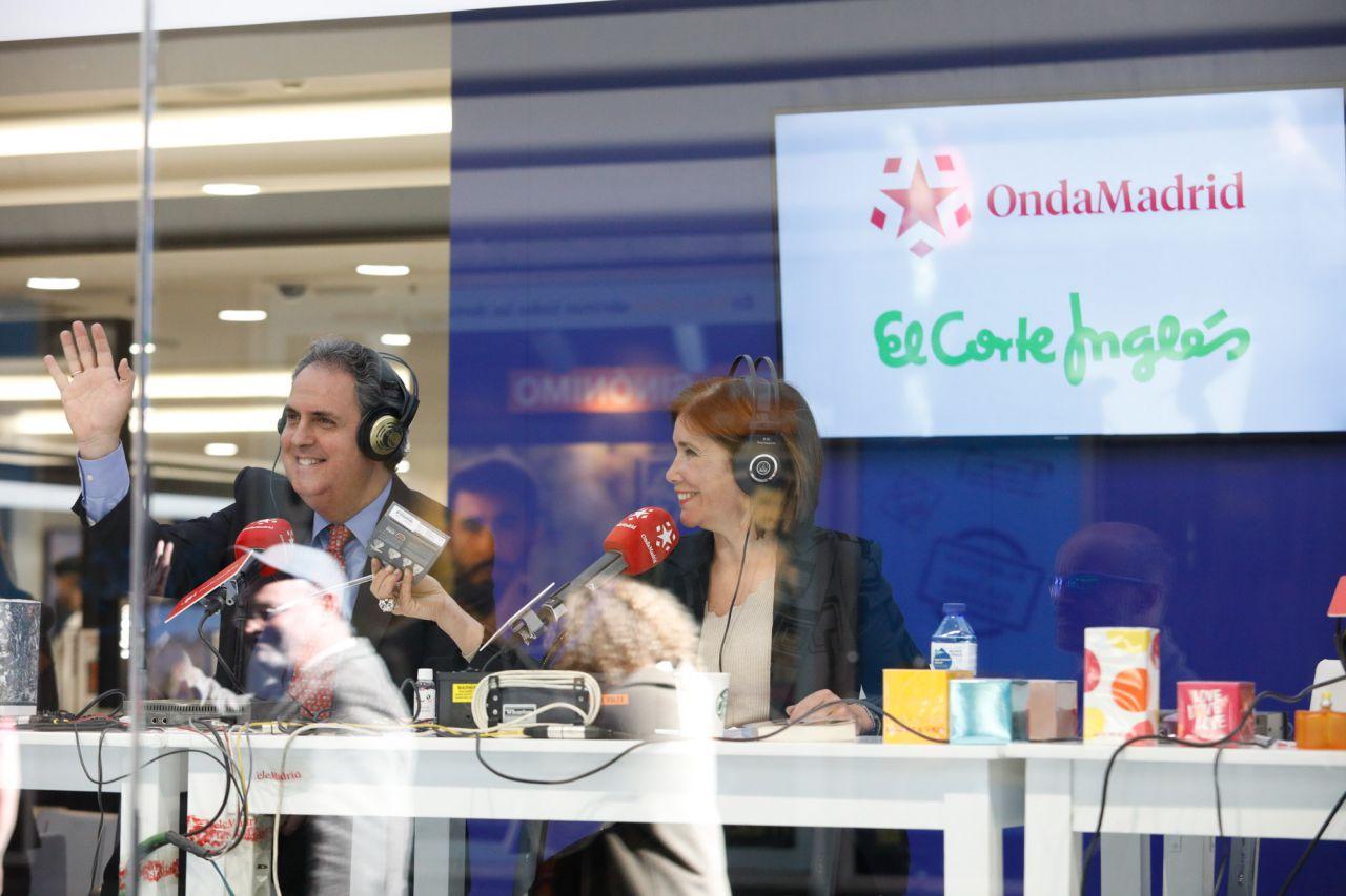 Enrique Hidalgo, director del centro comercial El Corte Inglés de Preciados-Callao.