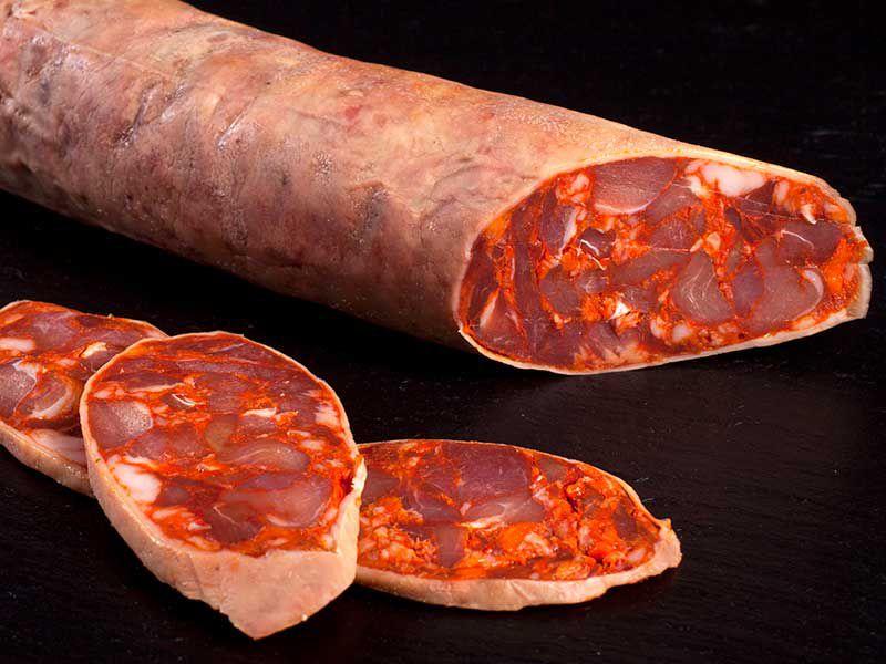 Chorizo ibérico de cebo, Solobuey