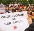 La 'España Vaciada' llena las calles de Madrid