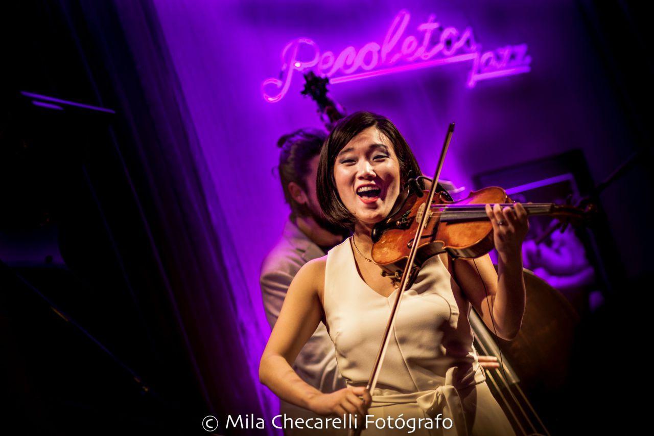 Maureen Choi Quartet han presentado su nuevo disco 'Theia' en AC Recoletos.