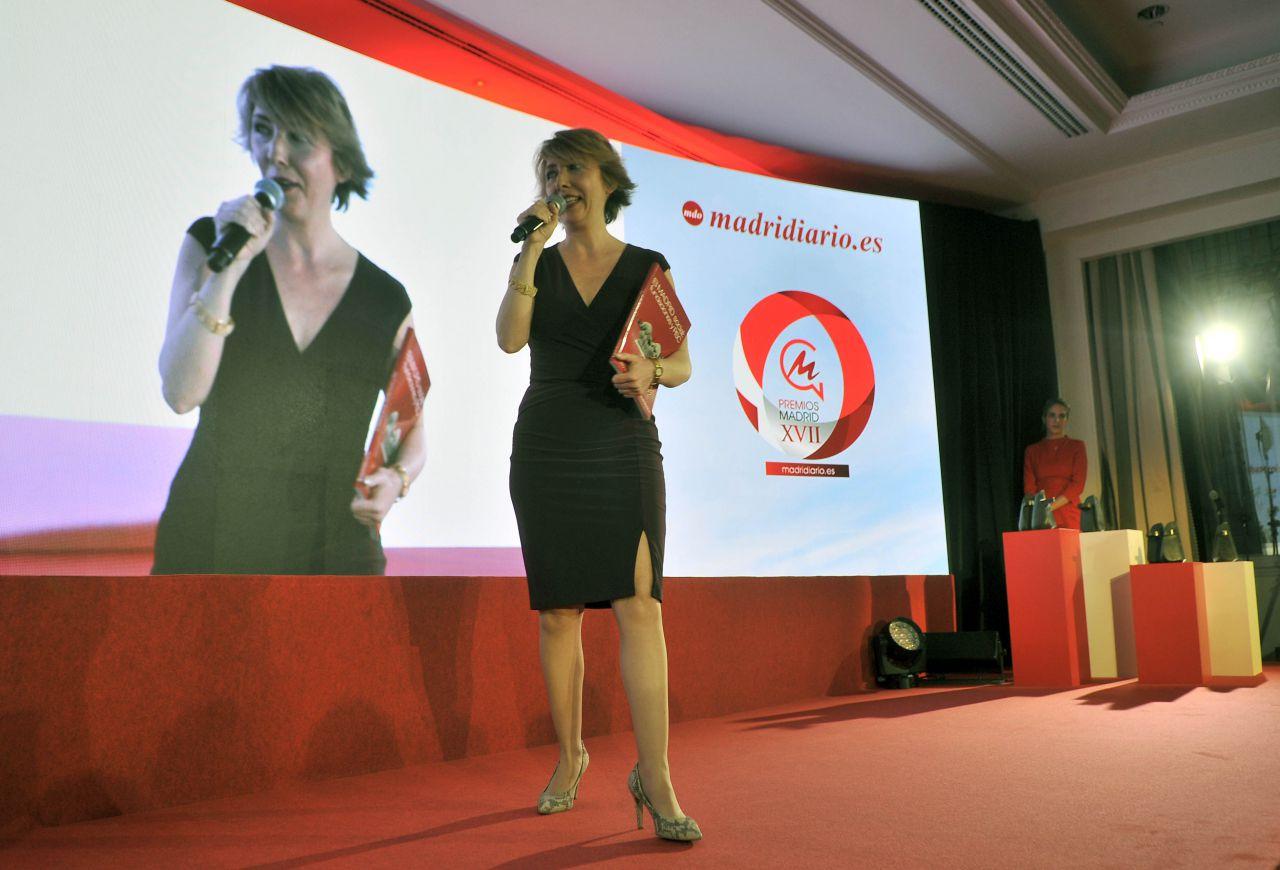 Y por octavo año, se aprovechó la gala de Premios Madrid para presentar el nuevo libro de la colección Foro Madrid Debate.  La directora de Madridiario explicó que en esta nueva entrega, la octava, se aborda el trabajo de las fundaciones y RSC empresarial en la región.