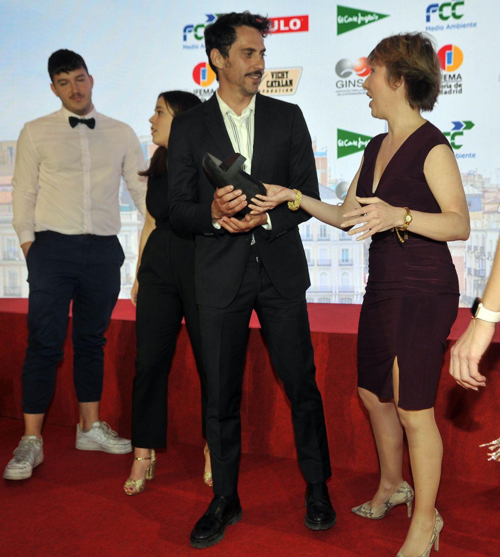 Paco León fue galardonado con el Premio Hombre del año.
