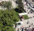 Cerco a la Plaza de España