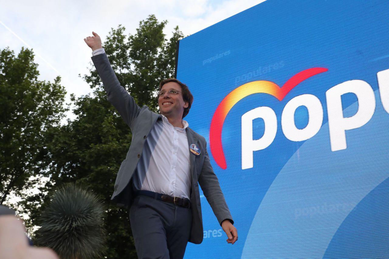El portavoz del PP en el Ayuntamiento y candidato a la Alcaldía de Madrid