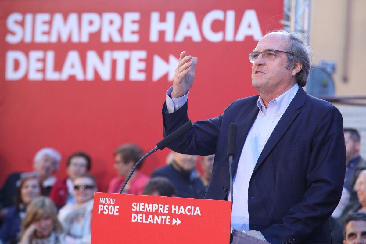 Ángel Gabilondo, durante su intervención en Vicálvaro.