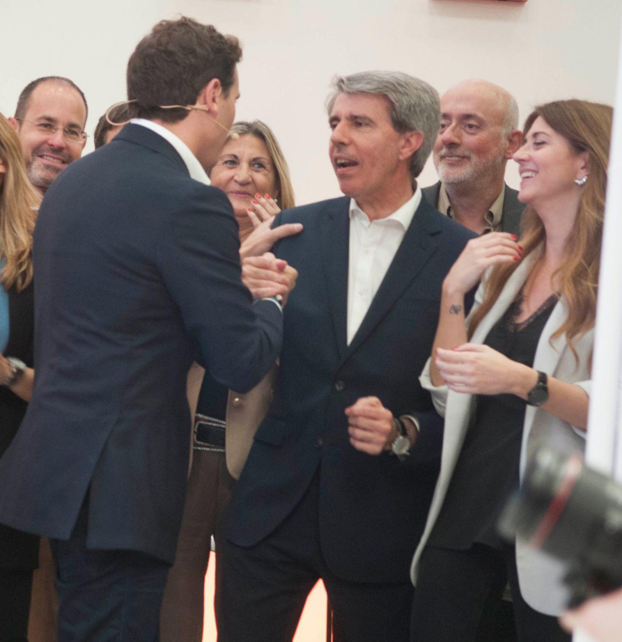 El expresidente de la Comunidad de Madrid y ahora número 13 a la Asamblea por Cs Ángel Gabilondo.