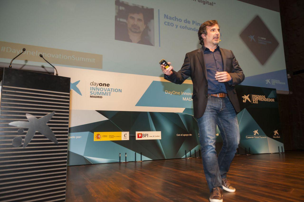 Nacho de Pinedo, CEO y fundador de ISDI (Instituto Superior para el Desarrollo de Internet).