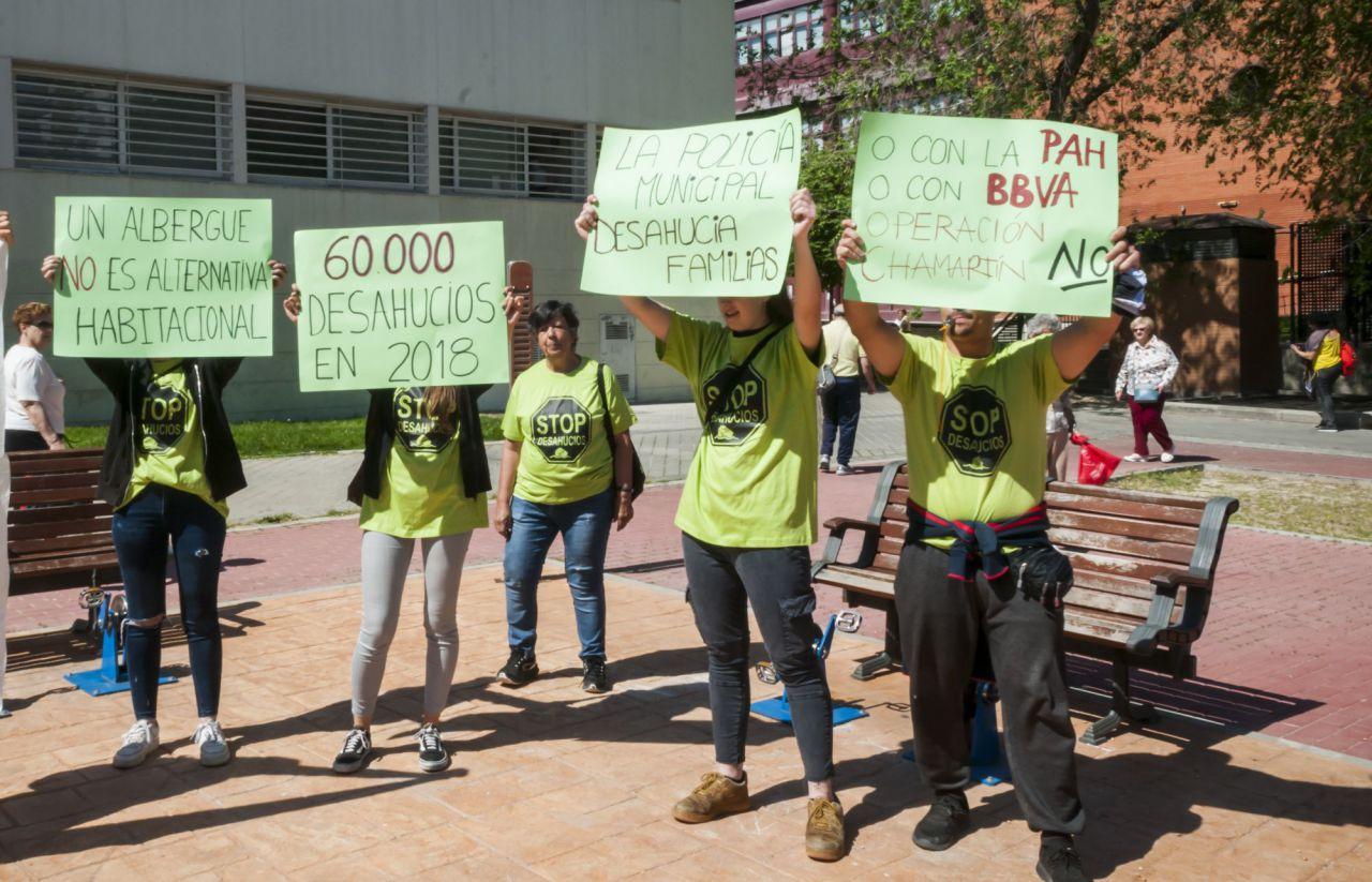 Según Stop Desahucios, se produjeron 60.000 desahucios el pasado año en España.