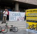 """Ciudad Lineal continúa su """"reivindicación histórica"""" por un carril bici"""