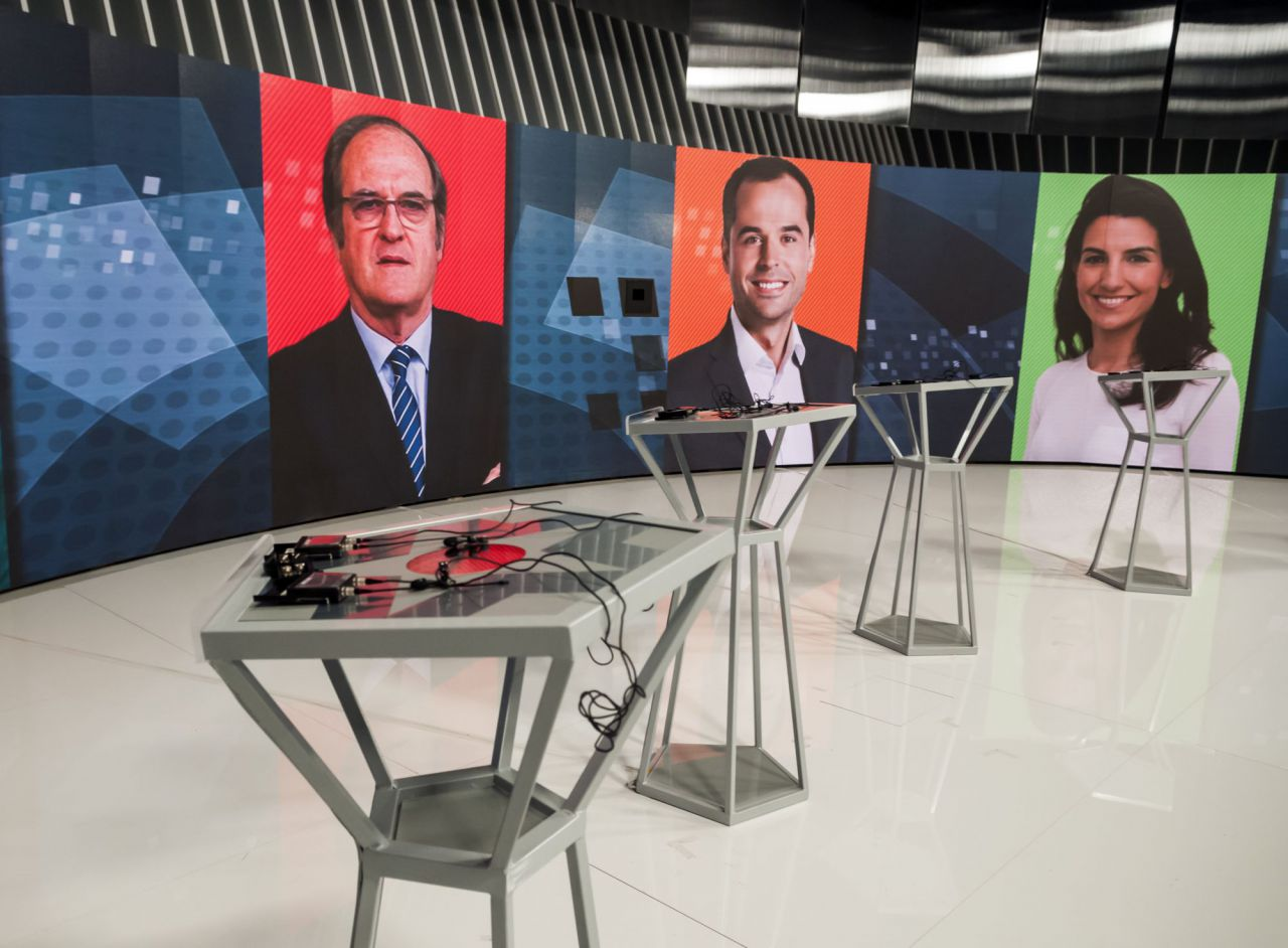 La posición de cada candidato y los turnos de intervención se han decidido por sorteo.