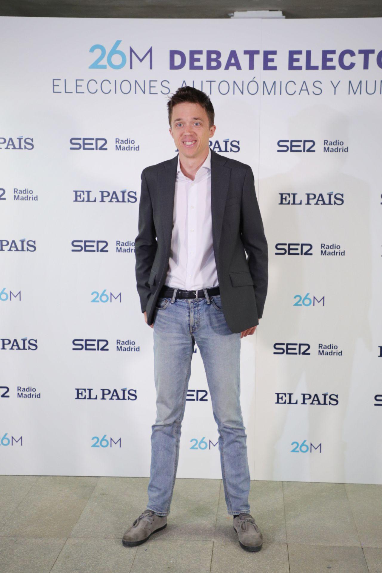 Iñigo Errejón, candidato de Más Madrid.