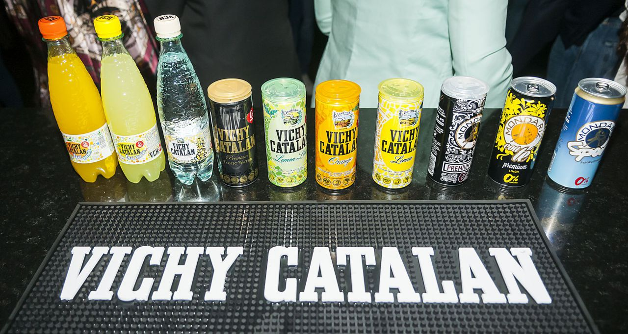 Vichy celebró The Universal Party este jueves en la Sala Nazca de Madrid con motivo del lanzamiento del nuevo anuncio publicitario de la casa.