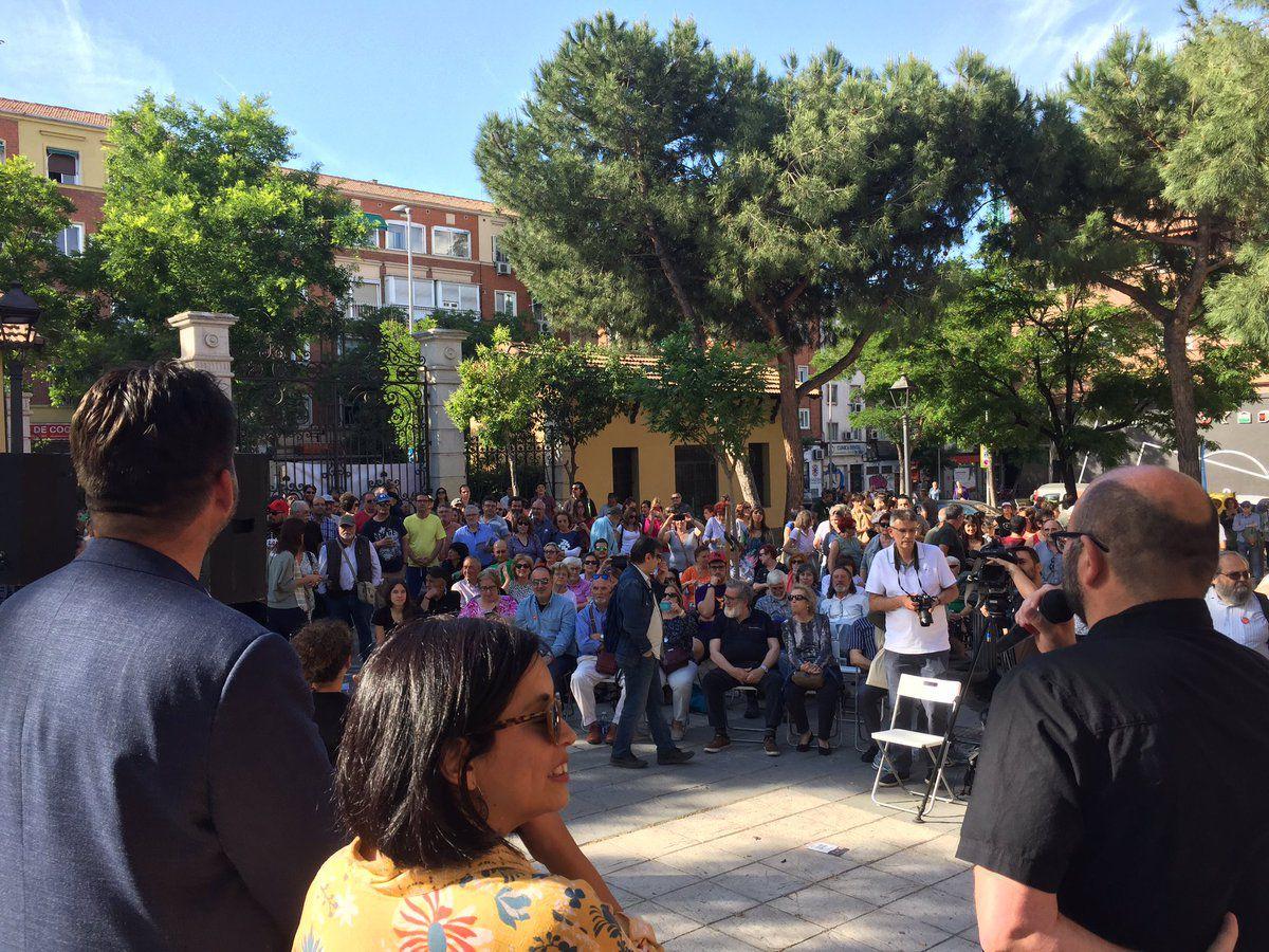 Acto de cierre de campaña de Madrid en Pie Municipalista.
