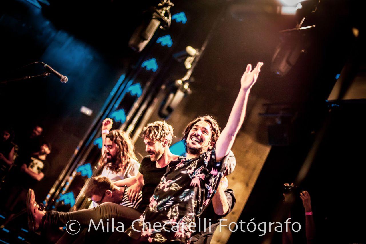 Concierto de La Sonrisa de Julia en la Sala Barceló.