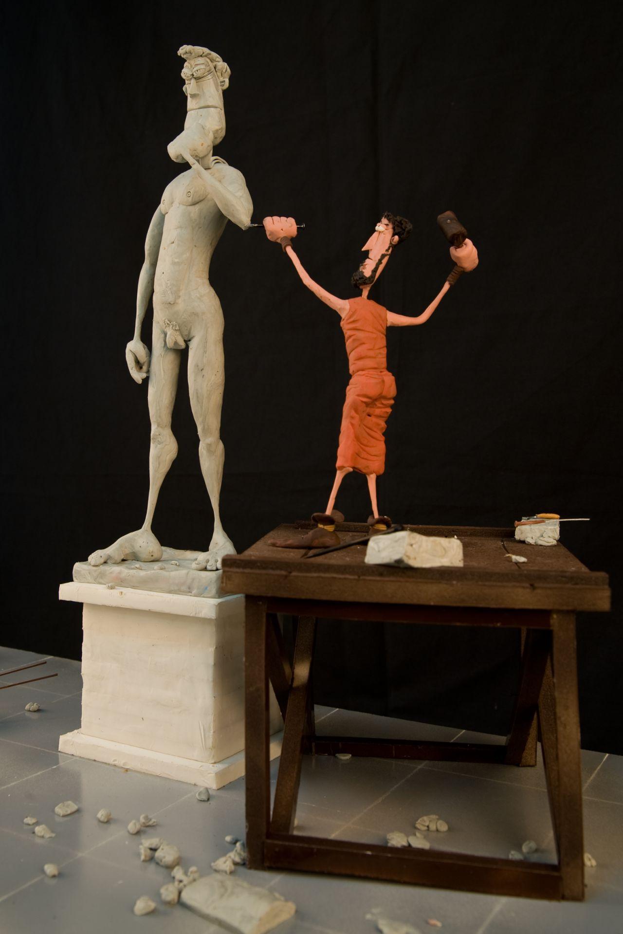 El Renacimiento, escena de 'Plastihistoria de la humanidad'