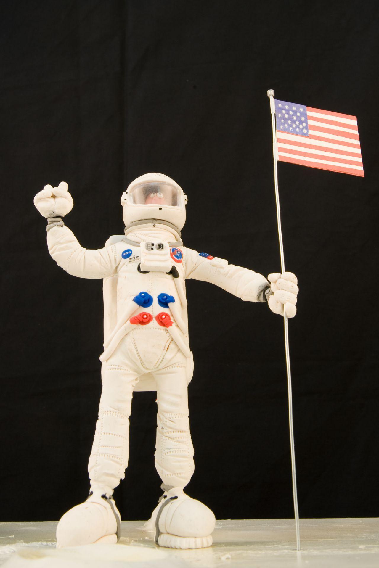 La conquista de la Luna, momento clave en la historia, también puede ver en la exposición.