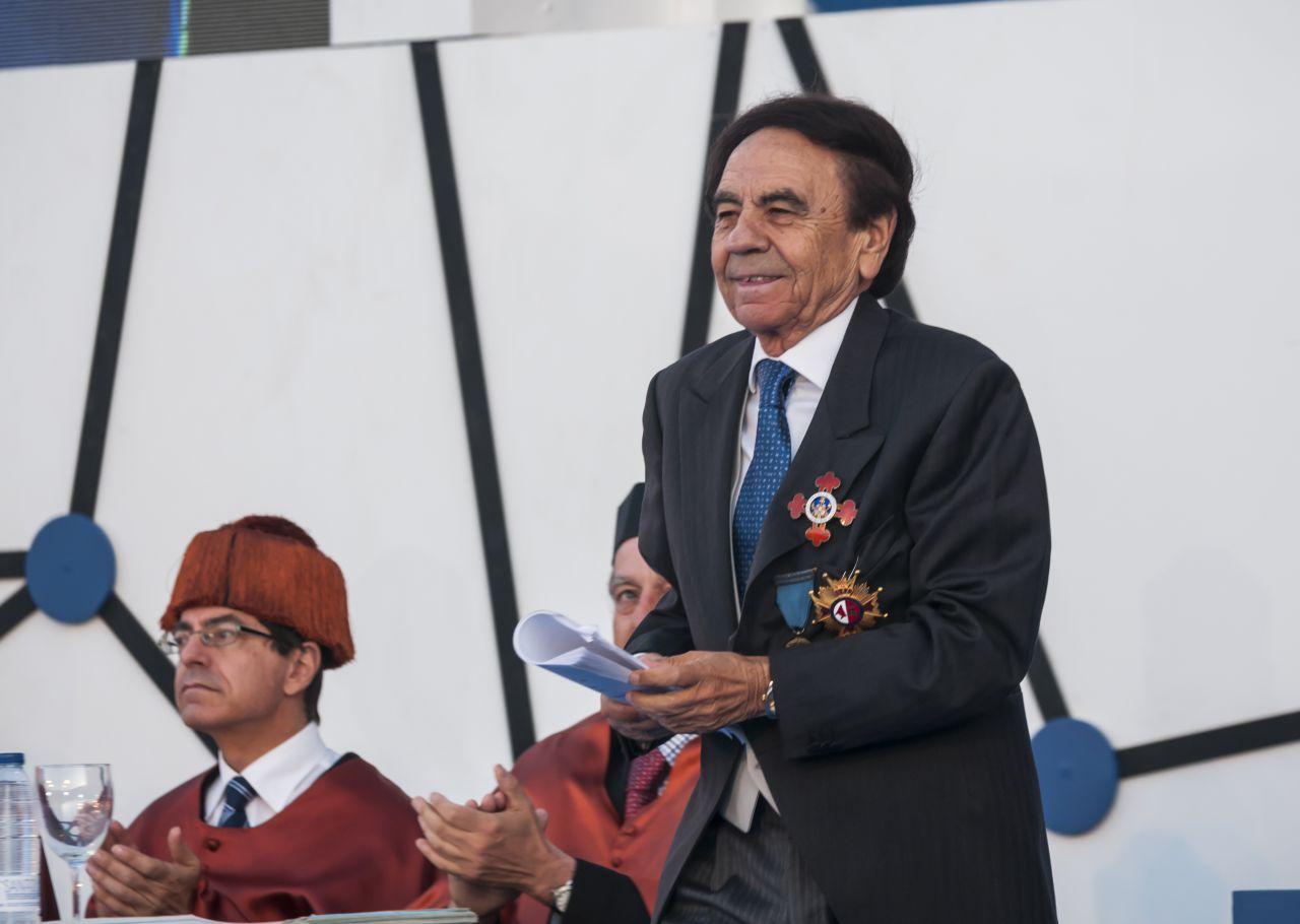Jesús Núñez, presidente de la UAX, en la gala de graduación de 2019.