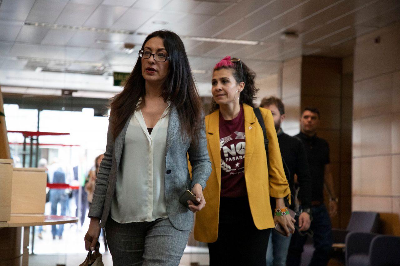 Sol Sánchez y Vanessa Lillo, de IU, diputadas por Unidas Podemos.
