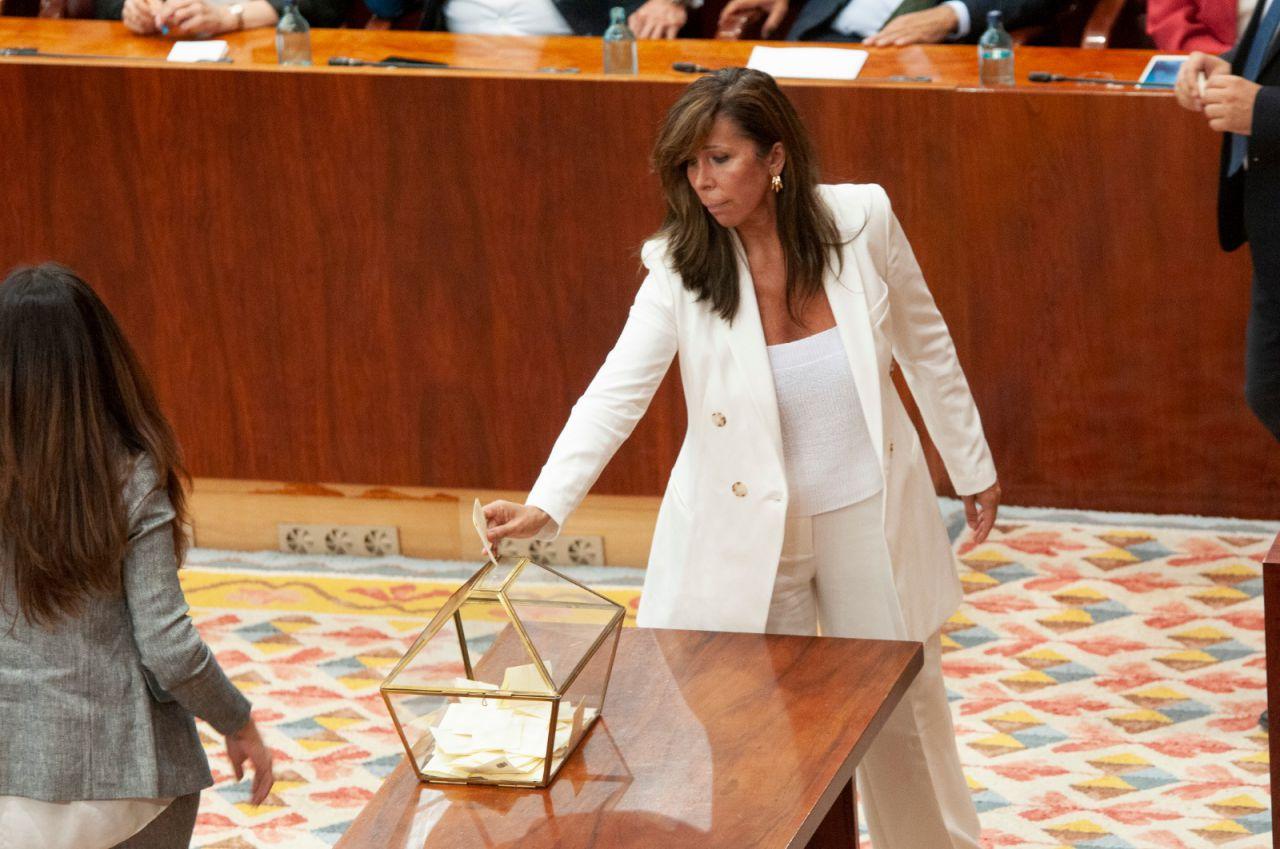 Alicia Sánchez Camacho ha cambiado el parlamento catalán por el madrileño.