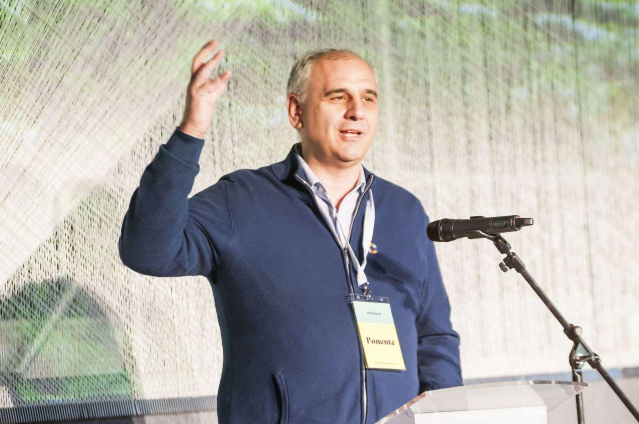 Carlos Barrabas, creador de la feria 'Mañana'.