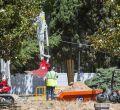 Vuelven las obras a Plaza de España