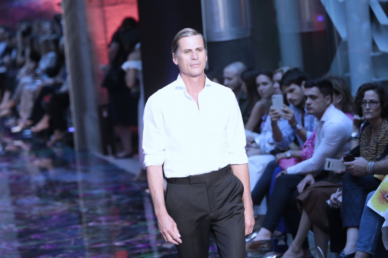 El top model masculino Mark Vanderloo.