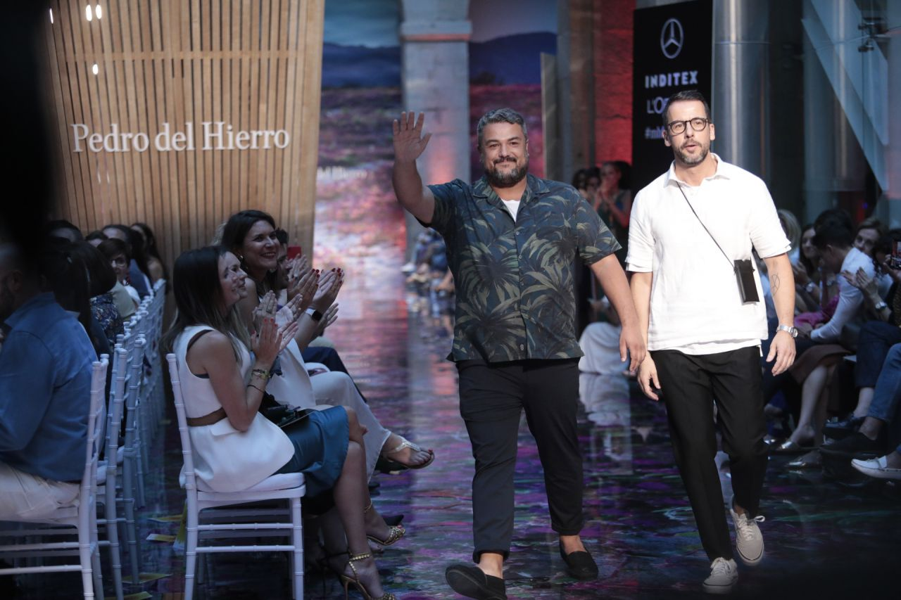 Los diseñadores Nacho Aguayo y Alex Miralles.
