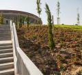 Un parque sostenible frente al Wanda