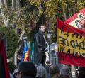 Activistas de Femen boicotean el homenaje a Franco