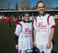 Onda Madrid celebra su 35 cumpleaños con un partido entre periodistas y políticos