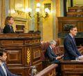 Comparecencia de Pedro Sánchez en el Congreso por el coronavirus