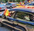 El centro de la capital se llena de manifestantes en la caravana organizada por Vox