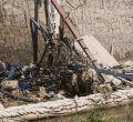 Los escombros del Calderón caen al Manzanares