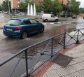 La lluvia llega con fuerza a Madrid