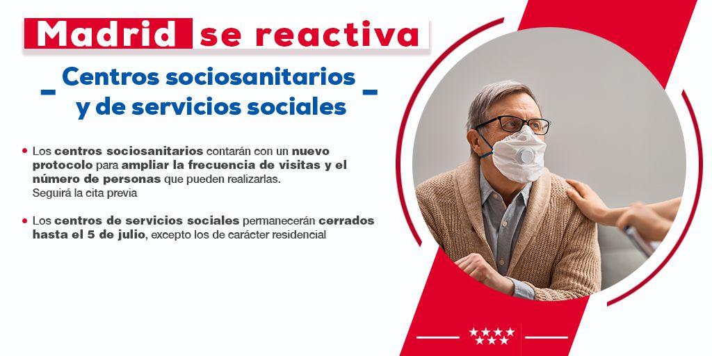 infografías con las principales medidas incluidas en la Orden aprobada hoy por el Consejo de Gobierno extraordinario de la Comunidad de Madrid